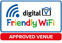 Friendly wifi logo survey approved